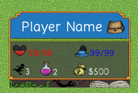 Those images-representing-health/mp-percents are one of the reasons I went on this mad quest.