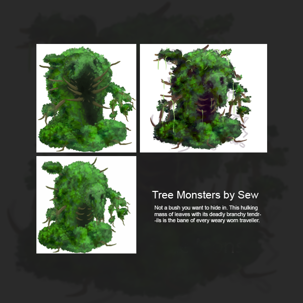 Tree Monsters Mar 23 2015